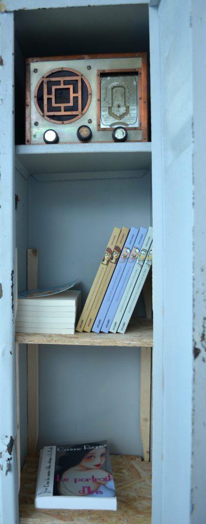 Librairie des Auteurs au Garage / Photo par Jean-Philippe Hemery