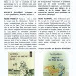 René Raimbau / Actualité suite 2